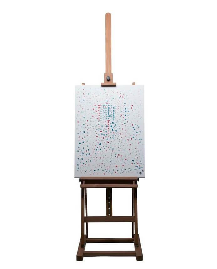 Hef viert 420 met Wiet-schilderij